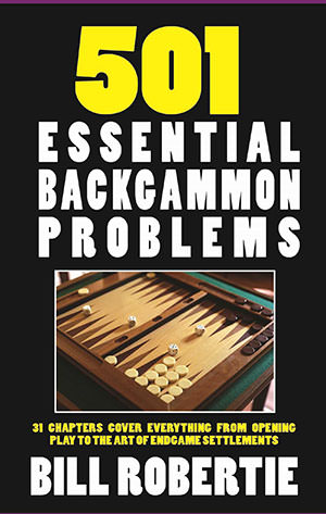 501 Essential BG problems, Edition 2017 (Bill ROBERTIE)