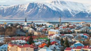 L'équipe de France à Reykjavik