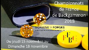 Championnats de France 2018 - 15 au 18 novembre