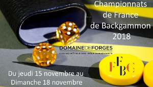 J-7 avant les Championnats de France de Backgammon 2018