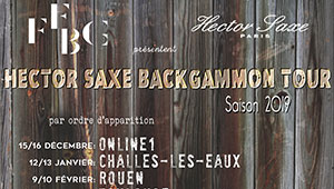 Hector Saxe Backgammon Tour 2019