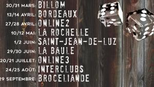 HSBT - Changement de dates - La Rochelle, Bordeaux et Online 2