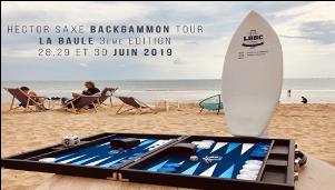 HECTOR SAXE BACKHAMMON TOUR, Etape de LA BAULE