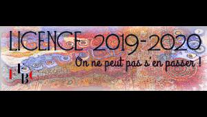 Licence Fédération Française de Backgammon saison 2019/2020