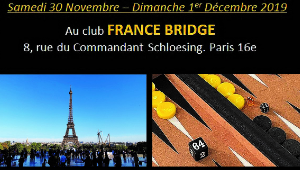Tournoi parisien du Hector Saxe Backgammon Tour