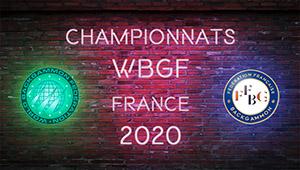 Suivez les championnats du Monde WBGF 2020 en direct