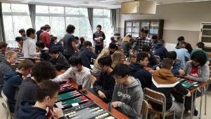 Des élèves du lycée de Vauban (62) partent à Tokyo rencontrer les joueurs du Azabu High School