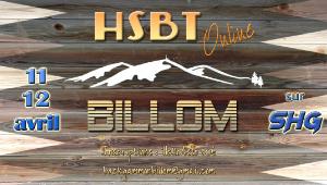 Participez à l'étape HSBT Online de Billom les 11 et 12 avril
