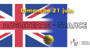 Rencontre France-Angleterre dimanche 21 juin