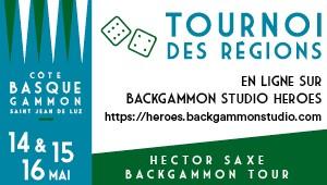 Hector Saxe Backgammon Tour 2020 Saint-Jean-de-Luz